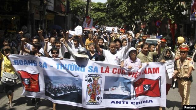 Biểu tình chống Trung Quốc ở Hà Nội hôm 22 tháng 7, 2012