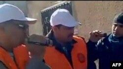 Наблюдатели Лиги арабских государств в Сирии.