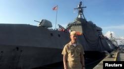 Donanma operasyonlarından sorumlu Oramiral John Richardson (Arşiv)