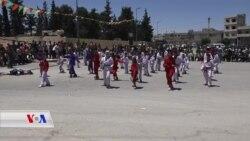 Yekemîn Festîvala Werzîşê li Kobanê