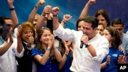 執政黨國民黨的候選人赫爾南德斯在洪都拉斯總統候選人中以微弱優勢領先。