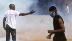 Des violences sporadiques opposent certains partisans de l'opposition à ceux du pouvoir