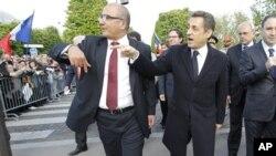 Shugaba Nicolas Sarkozy na Faransa.