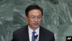 中國外交部長楊潔篪(資料圖片)