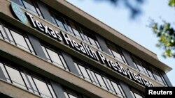 Bệnh viện Texas Health Presbyterian Hospital ở Dallas, nơi bệnh nhân mang quốc tịch Liberia đang được điều trị.