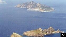 """日本称""""尖阁群岛"""",中国称""""钓鱼岛""""的群岛(资料照片)"""