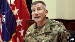 جنرال نیکولسن وویل چې دا برید د داعش پر ضد د عملیاتو یوه برخه ده