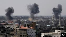 Durante nueve días Gaza ha sido bombrdeada por Israel.