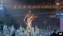 가톨릭 세계청년대회가 열리고 있는 브라질 리우 코파카바나 해변