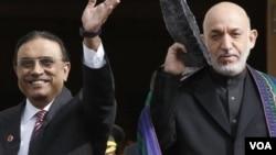 Hamid karzi and zardari