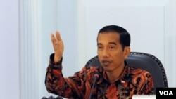 Presiden Jokowi mmenyampaikan apresiasinya kepada Pemerintah Papua Nugini (PNG) yang telah berhasil membantu Indonesia dalam upayanya membebaskan dua WNI dari tangan Organiasai Papua Merdeka (OPM) (Foto: dok).