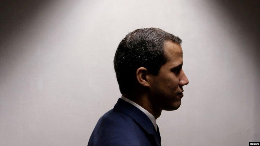 Thủ lĩnh đối lập Venezuela Juan Guaido.