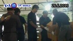 Thái Lan tịch thu và đốt tiêu hủy hơn ba tấn ma túy (VOA60)