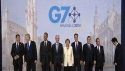 七國集團峰會重點討論俄羅斯烏克蘭