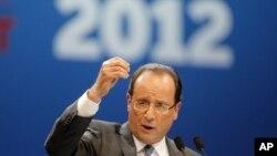 法國總統奧朗德(資料圖片)