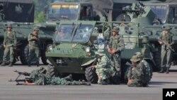 Los ejercicios militares ordenados por el presidente en disputa Nicolás Maduro en Venezuela, se ejecutan del 10 al 28 de septiembre de 2019.
