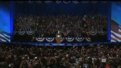 2012-11-07 美國之音視頻新聞: 奧巴馬在星期二的大選中獲勝