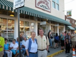 Woody and Jackie Crenshaw's venue, The Floyd Country Store, is a major stop on The Crooked Road, Virginia's heritage music trail.