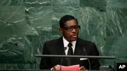 Visi Prezida wa Guinee Equatoriale Teodoro Nguema Obiang Mangue,
