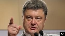 FILE - Ukraine's President-elect Petro Poroshenko.