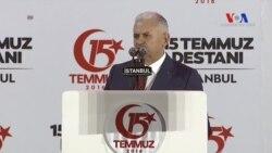 Başbakan Binali Yıldırım'ın 15 Temmuz Konuşması