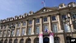 Le ministère de la justice à Paris, France, 21 septembre 2008.
