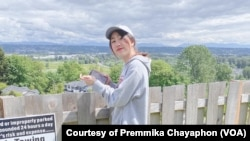 Premmika Chayaphon, a 17-year-old Thai student studying at Edmonds College, Washington
