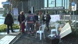 Şişli Belediyesi Temizlik Görevlileri Açlık Grevine Başladı