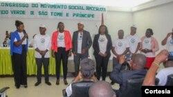 Congresso Extraordinário Eletivo do Partido Verde de São Tomé e Príncipe, 21 de setembro de 2019