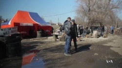 Pro-Russia Activists Set Up Checkpoints in Ukraine's Far East