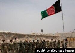 Penyerahan pangkalan militer AS di Helmand kepada pasukan Afghanistan, 2 Mei 2021. (Courtesy: Maiwand Corps).