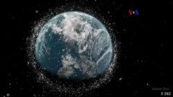 Basura espacial amenaza satélites y naves