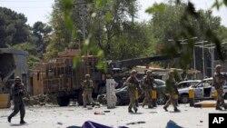 طالبان کا ایک ہفتے کے دوران یہ دوسرا بڑا حملہ ہے۔