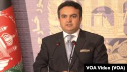 Juru bicara kementerian luar negeri Afghanistan, Ahmad Shakib Mustaghani (foto: dok).