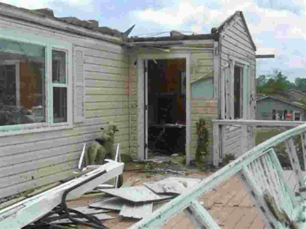 Consecuencias del tornado en Trenton, Georgia-