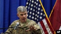 El portavoz de la coalición encabezada por EE.UU. en Irak, coronel Steve Warren, destacó la muerte del jefe de finanzas de ISIS.
