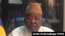Ahmat Mahamat Bachir ministre en charge de la sécurité publique, N'Djamena, Tchad, 20 juin 2018. (VOA/ André Kodmadjingar)