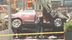 Nyu Yorkda avtomobil piyadaların üstünə sürülüb