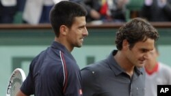 Pozdrav Đokovića i Federera na mreži