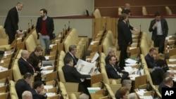 El Congreso ruso adoptó la medida como respuesta a una Ley emitida por EE.UU. relacionada con los Derechos Humanos.
