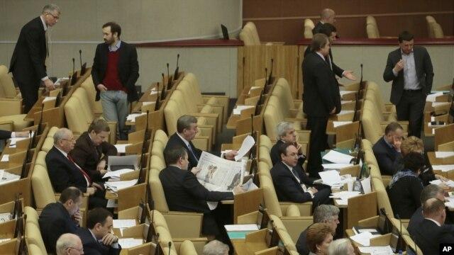 Bà Glukhova nói thực là xấu xa cho các đại biểu Hạ viện Nga khi dùng trẻ em mồ côi để bao che cho vụ ám sát ông Magnitsky.