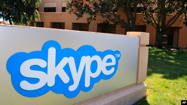 Skype offices in Palo Alto, California.