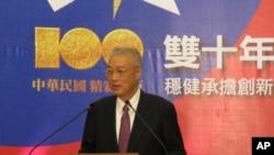 前台灣行政院長吳敦義資料照。