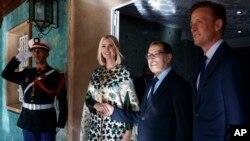ایوانکا ٹرمپ مراکش کے وزیر اعظم سعد عدن العثمانی کے ساتھ