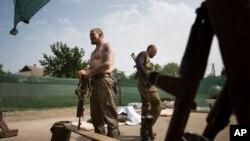 親俄羅斯反政府武裝仍佔據烏克蘭東部