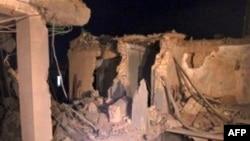 Các thiệt hại vì bom đạn ở Libya