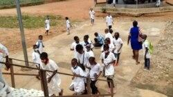 Alunos da escola São José de Cluny