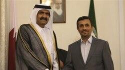 امير قطر به ايران سفر کرد