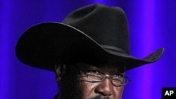 The President of South Sudan Salva Kiir Mayardit (file photo).