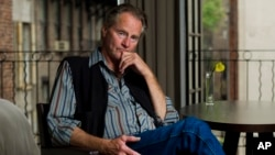 Sam Shepard poses for a portrait in New York, Sept, 29, 2011.